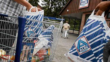 Supermarket Aldi w Hamburgu