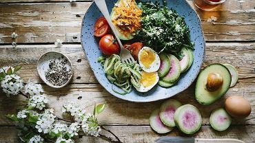 wegetariański obiad