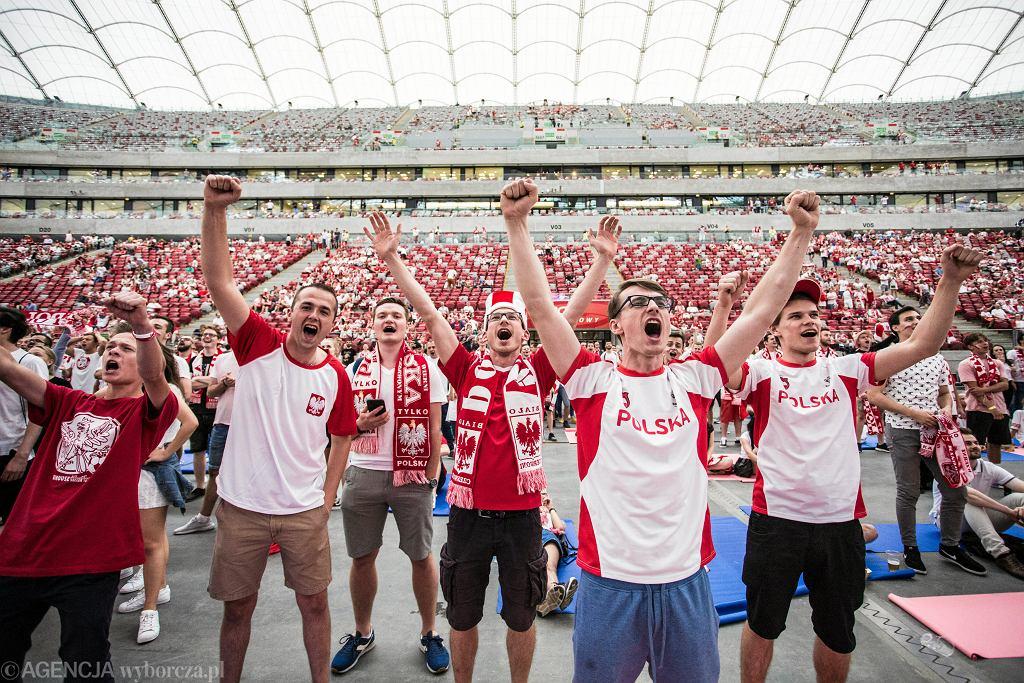 Mundial 2018. Strefa Kibica na Stadionie Narodowym w Warszawie