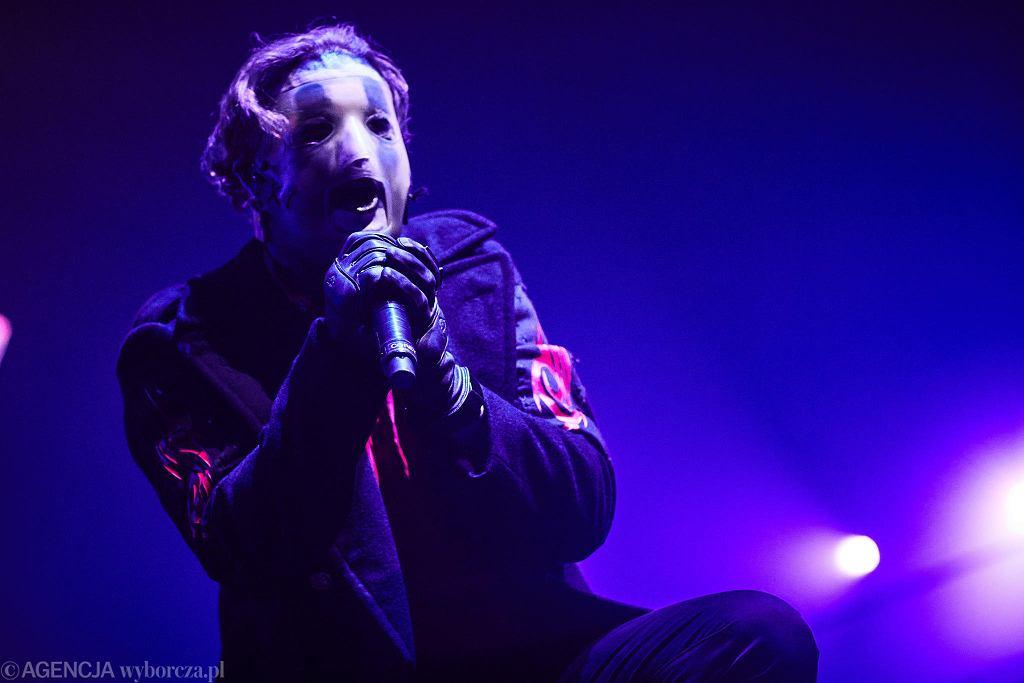 Koncerty w Łodzi. 6.02.2020. Atlas Arena. Na scenie zespół Slipknot