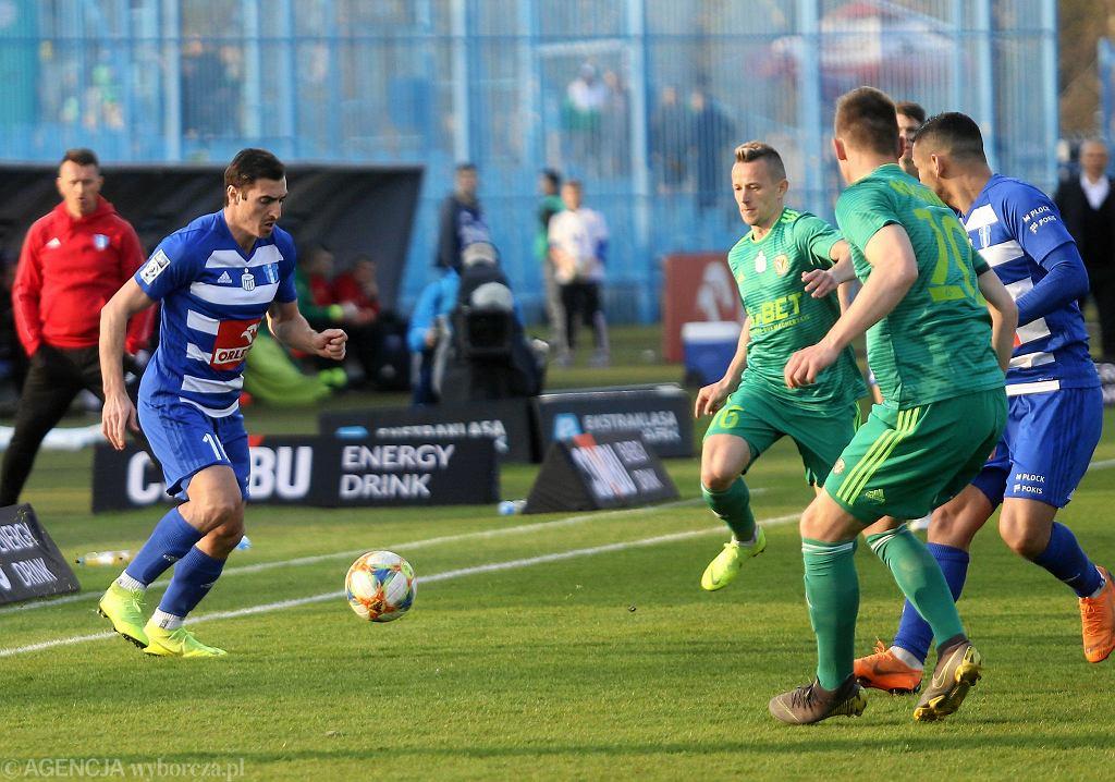 Ekstraklasa, piłka nożna. Wisła Płock - Śląsk Wrocław 2:0