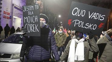 Protesty ws. wyroku TK