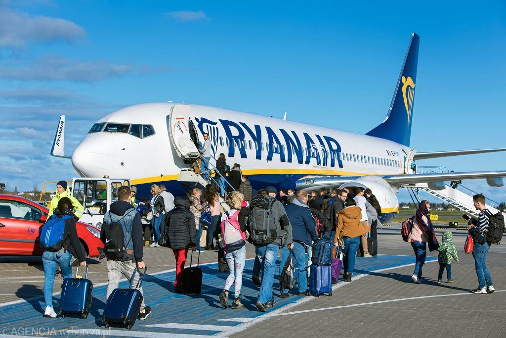 Ryanair musi wypłacić odszkodowanie za bagaż podręczny