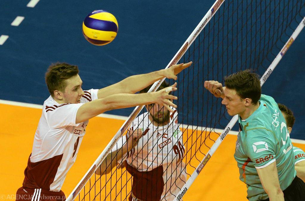 Polska - Niemcy 2;3. Mateusz Bieniek