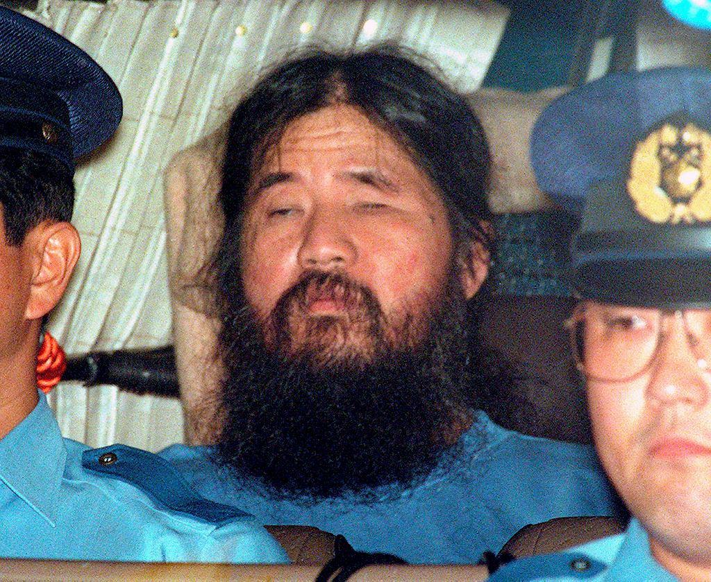 Japonia: Shoko Asahara i członkowie sekty Aum straceni przez powieszenie