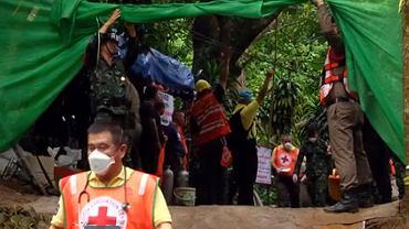 Tajlandia. Akcja ratunkowa w jaskini