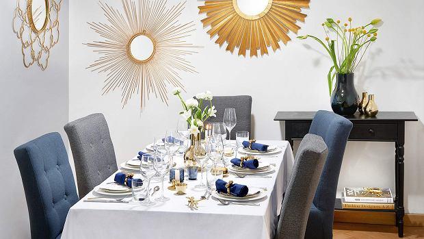 Dekoracja do domu na eleganckie przyjęcie