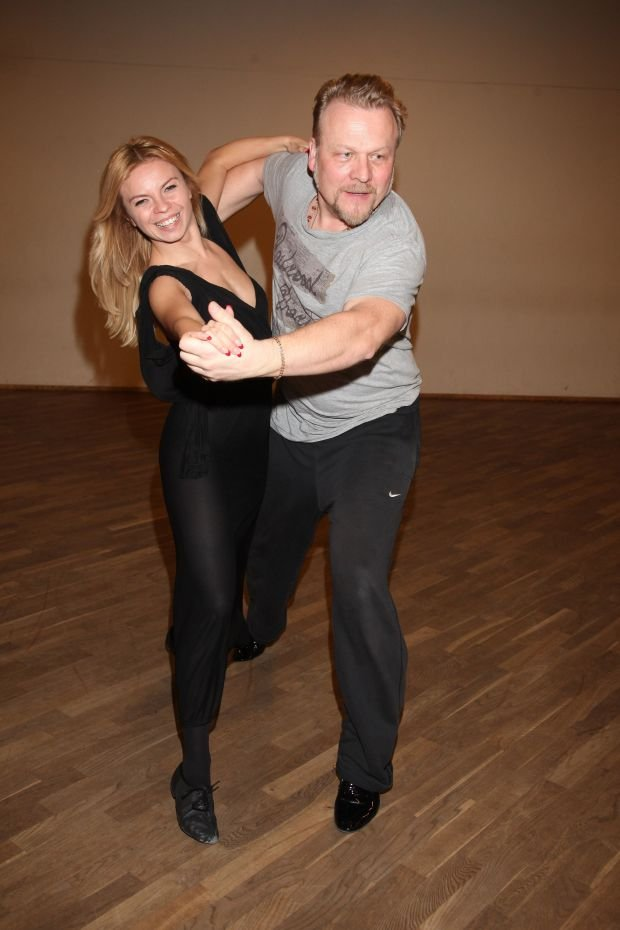 Jacek Lenartowicz i  Paulina Biernat