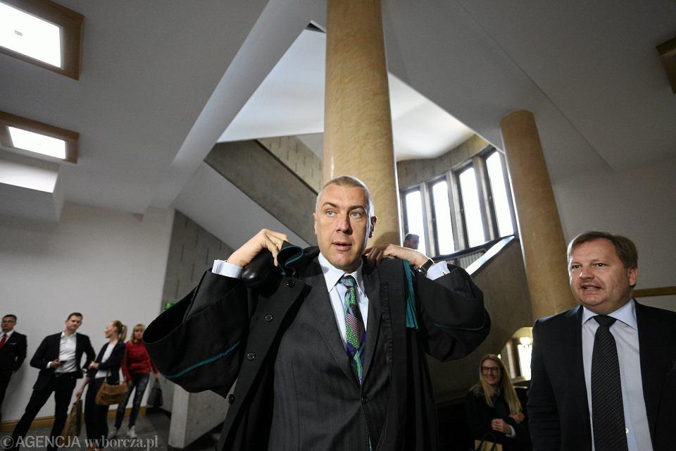 Były polityk, obecnie adwokat Roman Giertych.