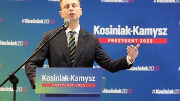 Wybory prezydencie 2020. 7.03.2020. Władysław Kosiniak-Kamysz w Łodzi