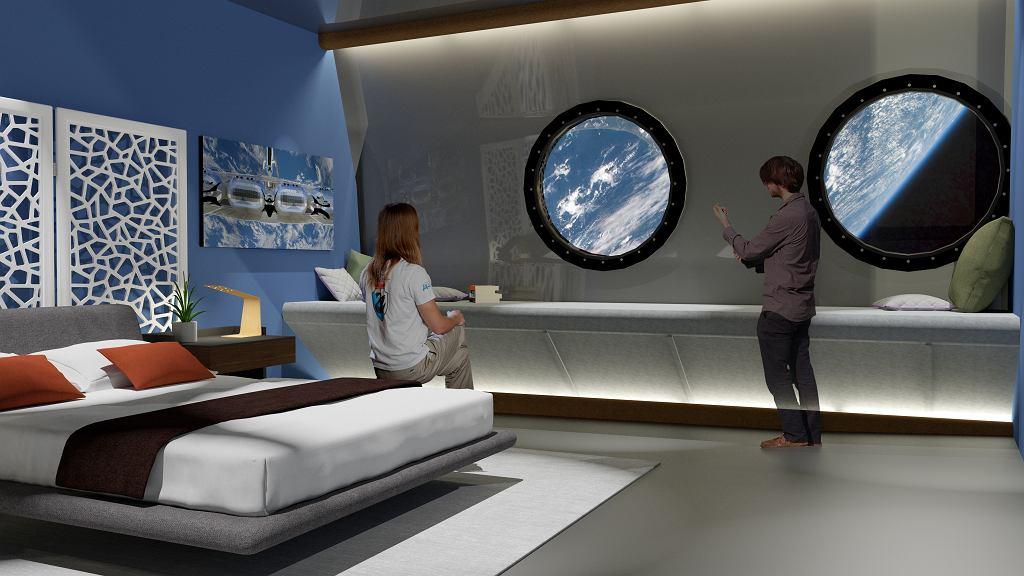 Voyager Station - wizualizacja