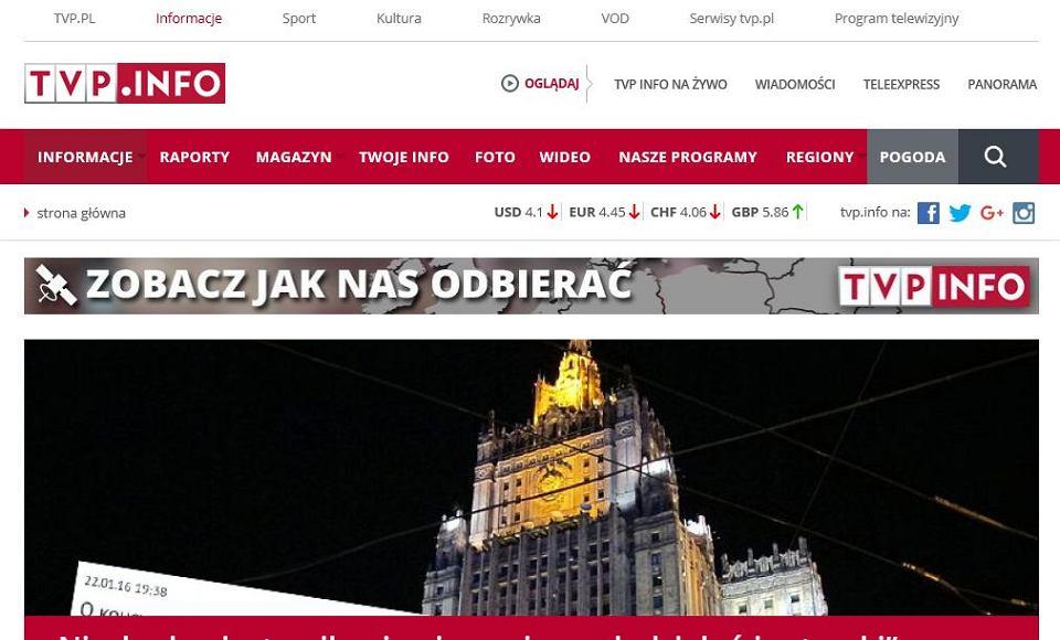 TVP Info poszukuje dziennikarzy w dość niekonwencjonalny sposób