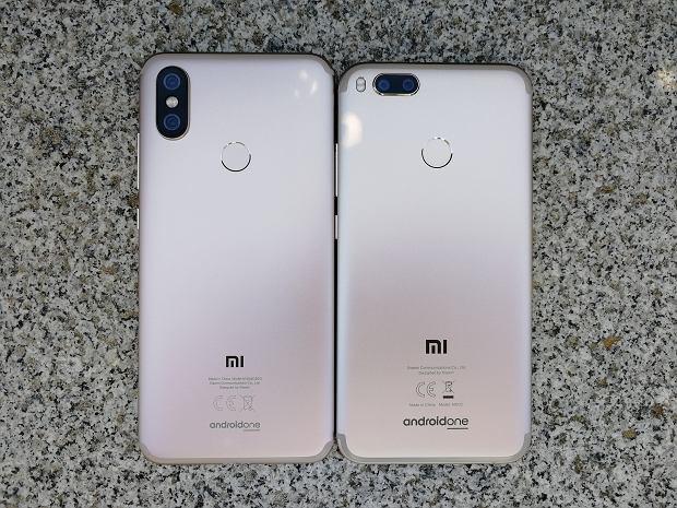 Porównanie Xiaomi Mi A2 z poprzednikiem Mi A1