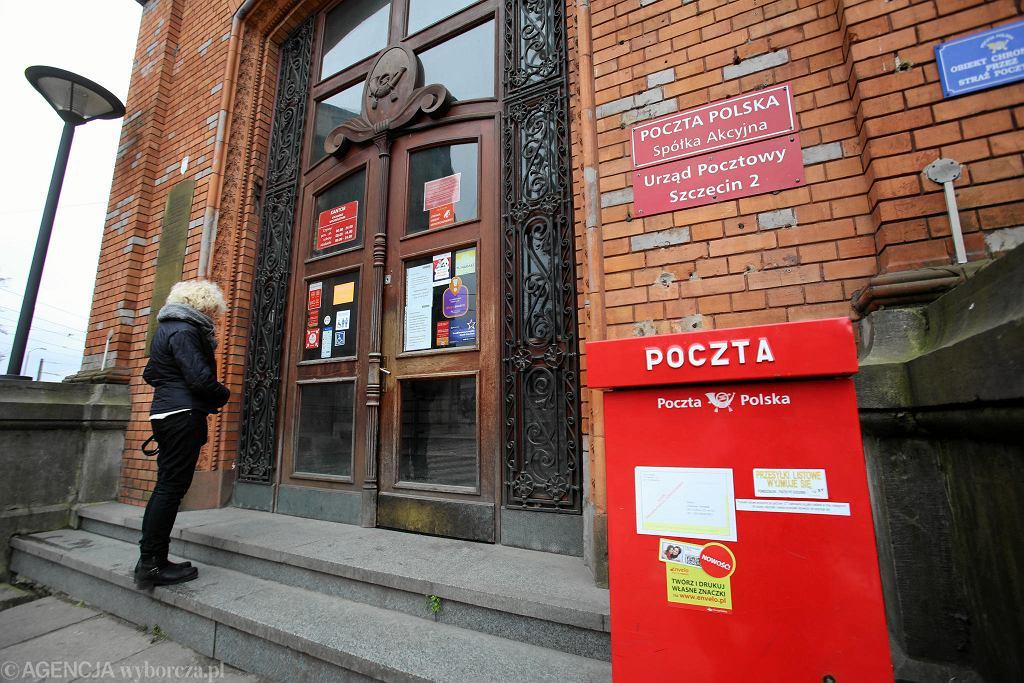 Urząd Pocztowy Szczecin 2 przy ul. Dworcowej