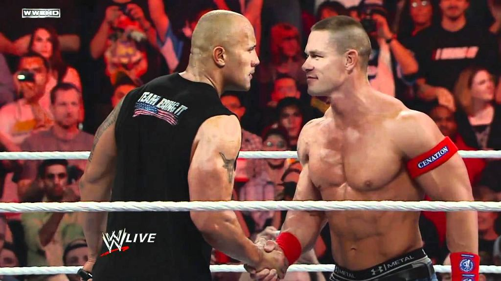 The Rock / John Cena