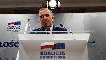 Sroczyński: Koalicja Europejska krzyczy, że idzie faszyzm, po czym siedzi w fotelach. Oni sami nie wierzą w to, co mówią
