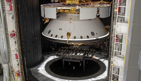 NASA zaprezentowała statek kosmiczny, który zabierze łazika na Marsa