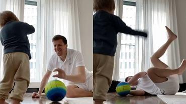 Wojciech Szczęsny z Liamem