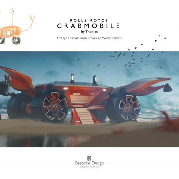 Young Designer Competition to pomysł Rolls-Royce'a na urozmaicenie dzieciom (i rodzicom) kwarantanny domowej