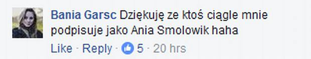 Komentarz Barbary Garstki