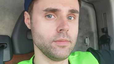 Wiosną aktor Marcin Januszkiewicz pracował jako kurier (zdjęcie z Instagrama pokazuje właśnie ten moment). Jak przygotował się na drugi lockdown?