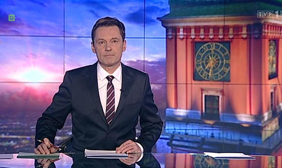 Krzysztof Ziemiec, prezenter 'Wiadomości'