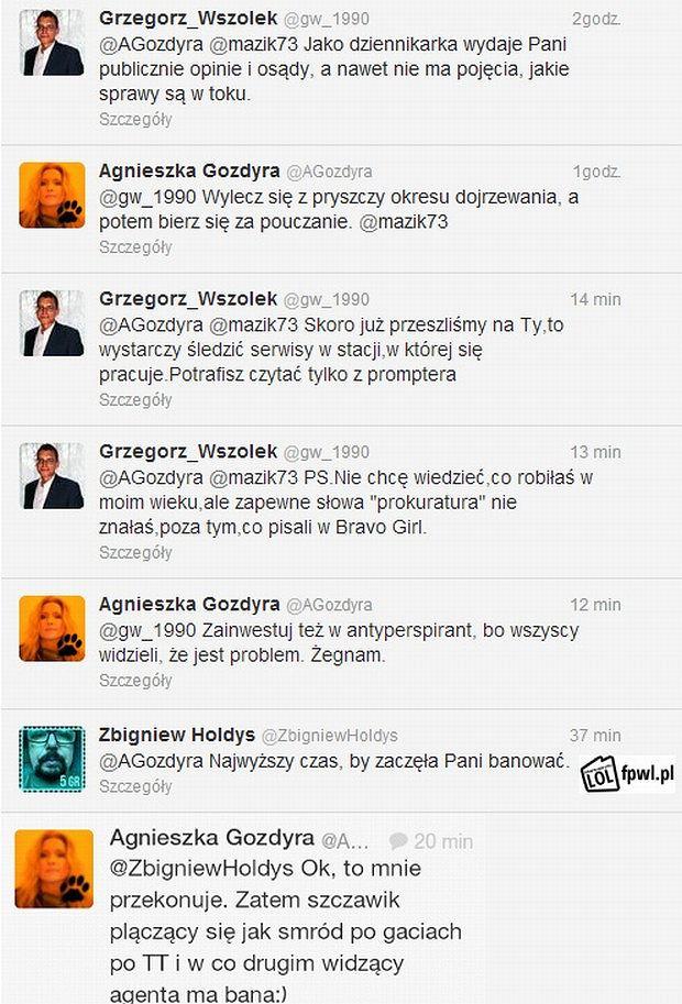 Zbigniew Hołdys, Agnieszka Gozdyra, Grzegorz Wszołek