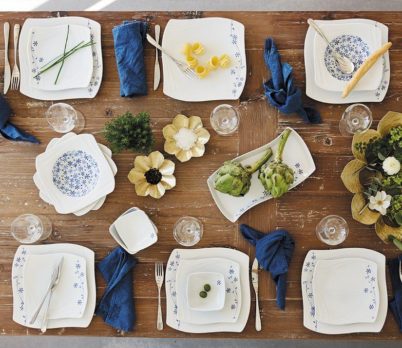 Serwis obiadowy Fyrklovern - tradycja z nutką nowoczesności