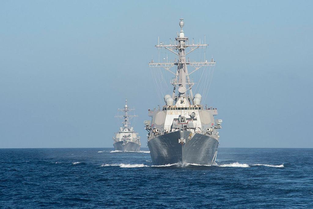 Niszczyciele typu Arleigh Burke, obecnie podstawowe okręty US Navy