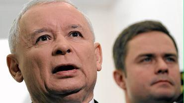 Jarosław Kaczyński, Adam Hofman