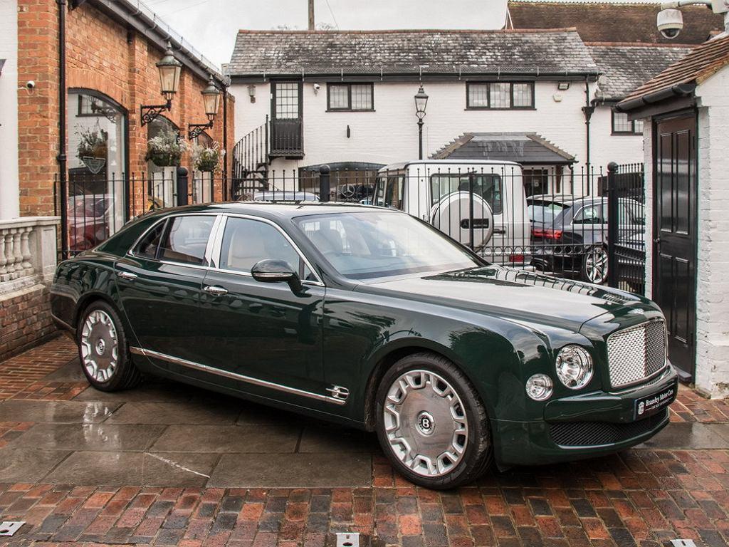 Bentley Mulsanne królowej Elżbiety II trafił na sprzedaż