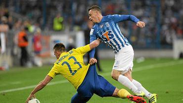 Lech Poznań - Arka Gdynia 0:0. Maciej Gajos