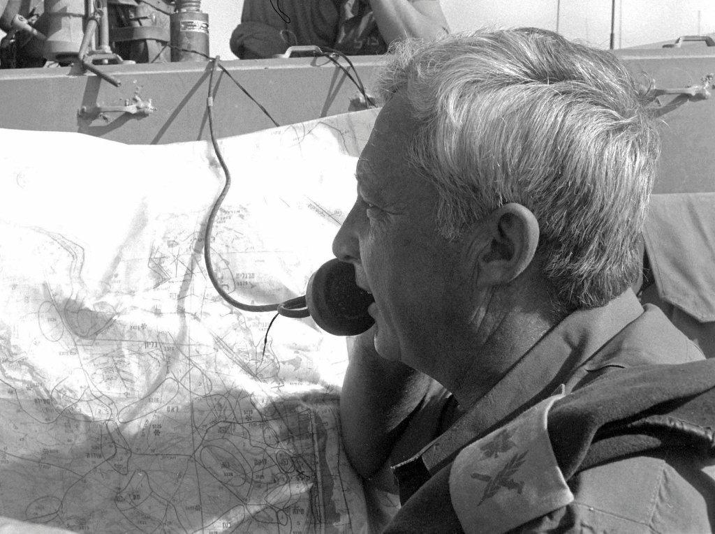 Ariel Szaron w 1973 roku w czasie wojny Jom Kippur