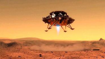 Tianwen-1 ląduje na Marsie