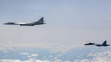Rosyjskie bombowce odbyły lot strategiczny nad Bałtykiem
