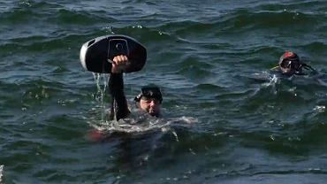 Akcja sprzątania plaży w Kołobrzegu