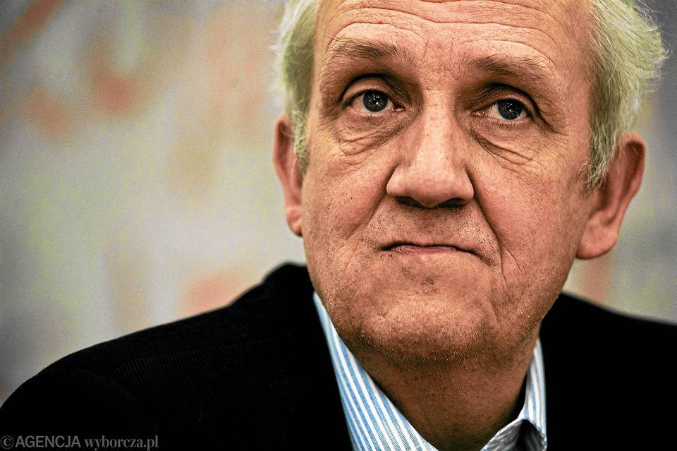Prof. Andrzej Friszke - historyk, wybitny specjalista od dziejów opozycji w PRL, członek rady Instytutu Pamięci Narodowej
