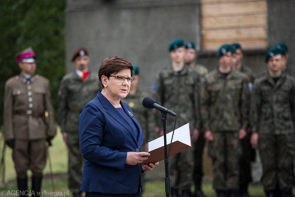 Beata Szydło w Oświęcimiu