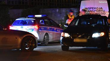 Nielegalne wyścigi miały się odbyć w sobotni wieczór w Katowicach