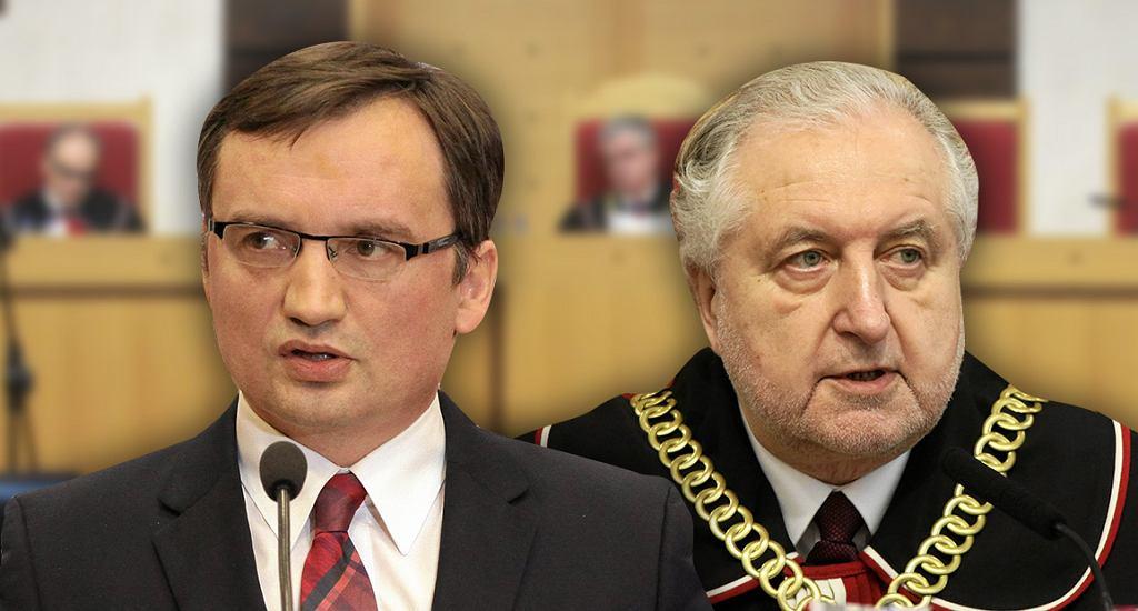 Zbigniew Ziobro i Andrzej Rzepliński