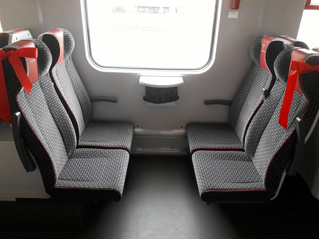 Nowy pociąg EN-57 Ald