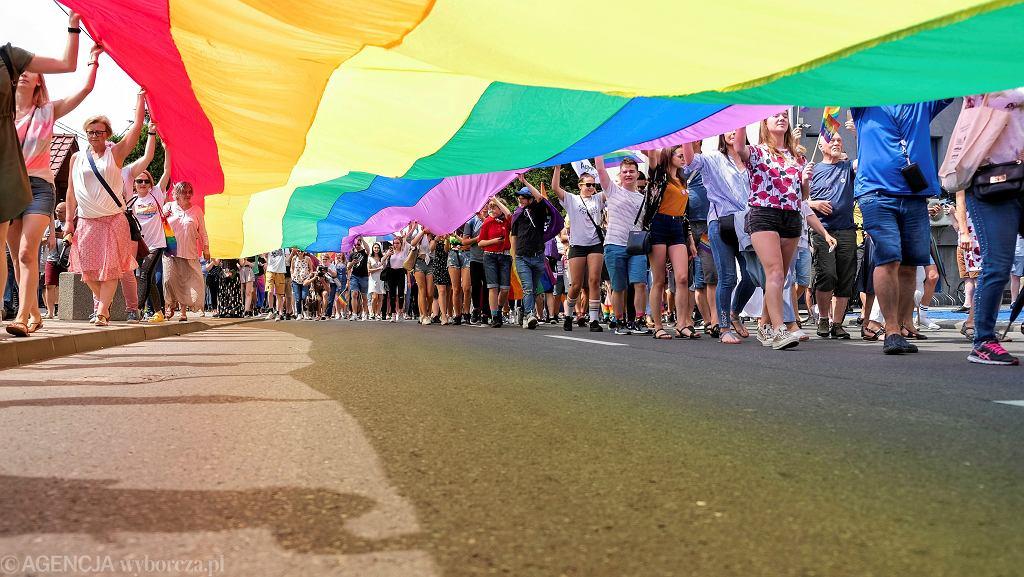 Parada równości (zdjęcie lustracyjne)