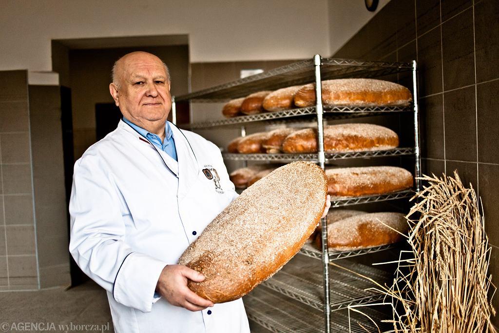 Antoni Madej odtworzył starodawny przepis na chleb prądnicki.