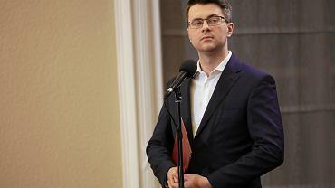02.02.2020  Warszawa . Kancelaria Prezesa Rady Ministrów . Rzecznik rządu Piotr Muller