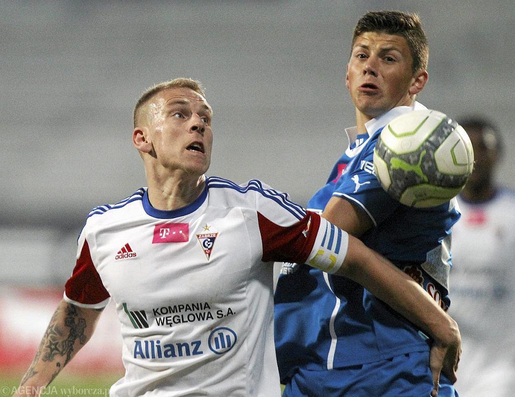 Gornik Zabrze - Lech Poznan 0:3. Dawid Kownacki i Adam Danch