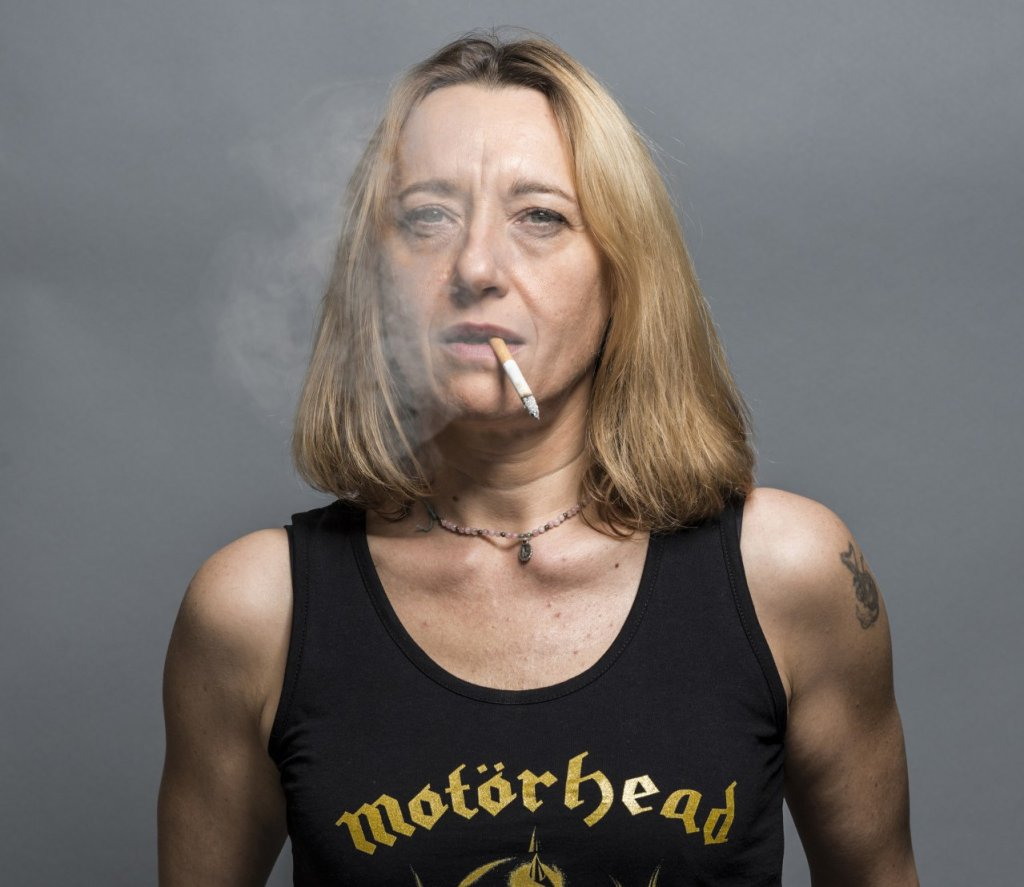 Virginie Despentes (fot. JF paga)