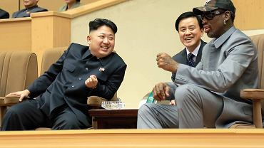 Kim Dzong Un i Dennis Rodman