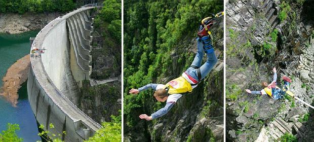 mój pierwszy raz, bungee jumping
