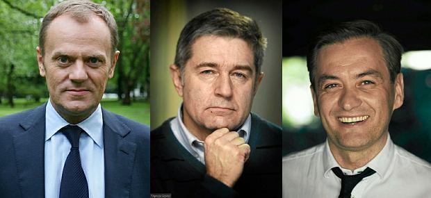 Donald Tusk, Władysław Frasyniuk, Robert Biedroń