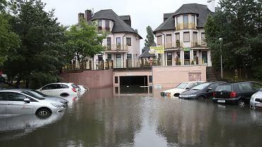 Skutki ulew w Szczecinie